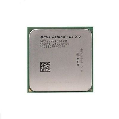 AMD Athlon X2 6000+ 3.1GHz Dual-Core (ADV6000IAA5DO) Processor