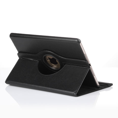 Swivel Leather Case for iPad Air - Black