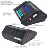 EV-Peak C1-XR Charger 100W 10A AC/DC LiHV Capable Balance Charger