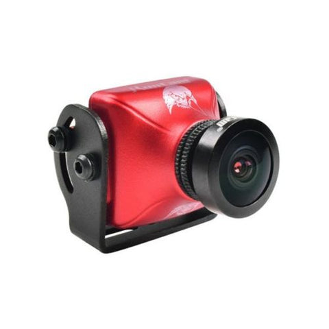 RunCam Eagle 2 FPV Camera 4:3  WDR 800TVL 5-36V 2.5mm Lens Aluminium NTSC PAL (Red)