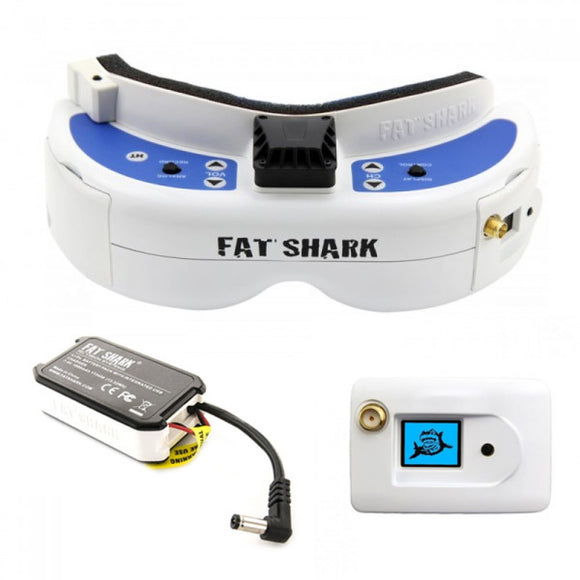 Fat Shark Dominator V3 FPV Goggles (RTF Bundle)