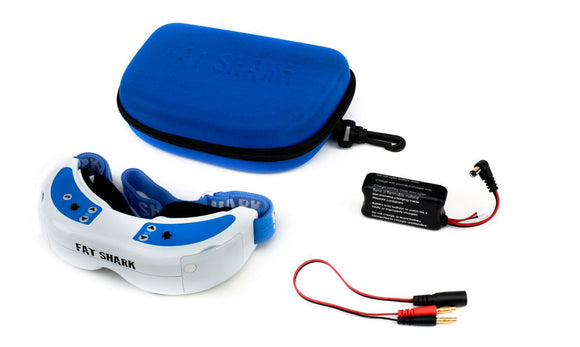 Fat Shark 1061 Dominator V2 FPV FCC Certified Bundle Headset Goggles Fatshark