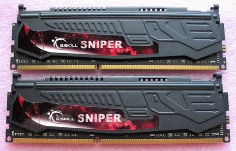 G.Skill Sniper 8GB (4GB x 2) DDR3-1866 PC3-14900 CL9 Desktop Memory