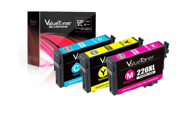 Valuetoner Remanufactured Ink Cartridge Replacement Epson 220 220XL T220XL220