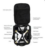 Koozam Backpack designed to fit the Phantom 3 Professional, Advanced, and Standard Edition Drone's DJI PHANTOM 3 Quadcopter Drones, Fits Other DJI Models