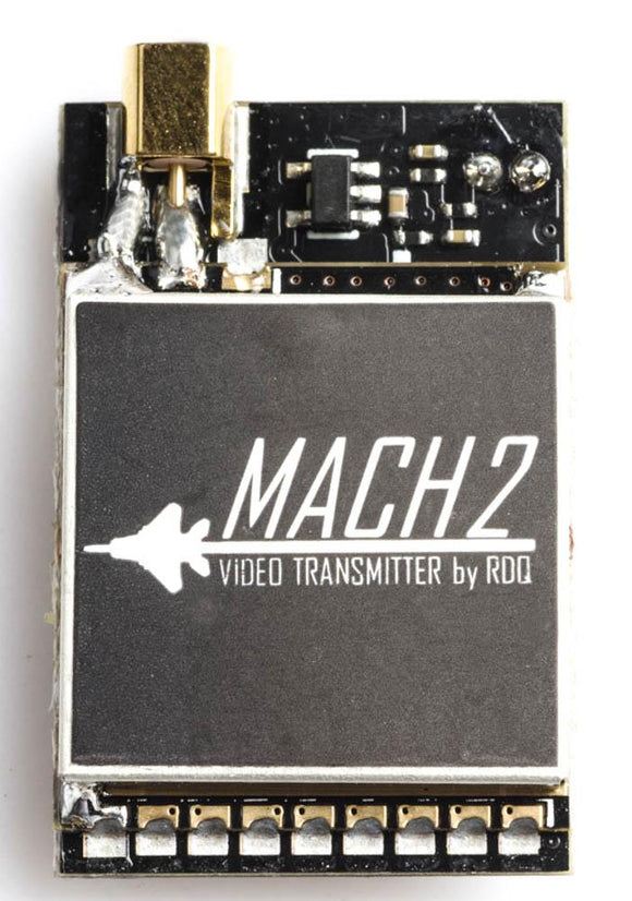 MACH 2 VIDEO TRANSMITTER - AUDIO CONTROL WITH 0/25/200/500/800MW MMCX or U.FL