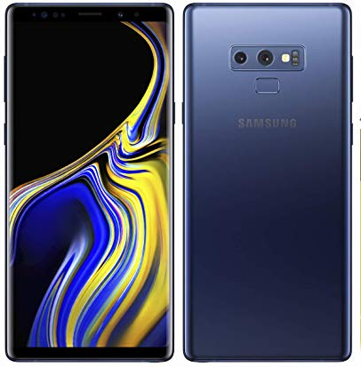 Samsung Galaxy Note 9 Blue 128GB storage 6GB memory Carrier Unlocked