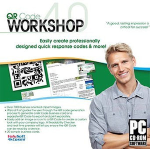 QR Code Workshop PC Software Business Card Program