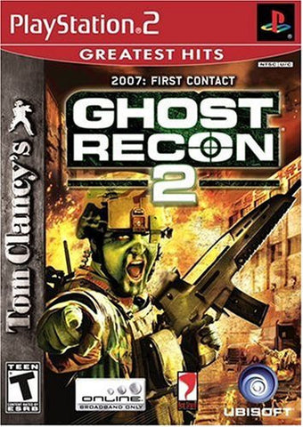 Tom Clancy's Ghost Recon 2: First Contact (Playstation 2)