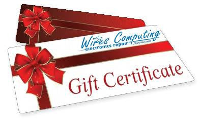 Wires Computing & BTV Drones Gift Card