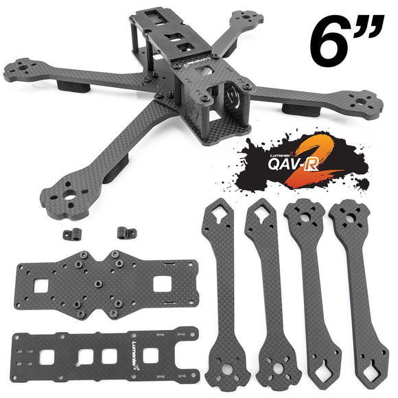 Lumenier QAV-R 2 Freestyle Quadcopter Frame 6