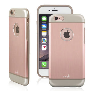 Genuine OEM Moshi iGlaze Armour Slim Metallic Case For iPhone 6 Plus & 6s Plus