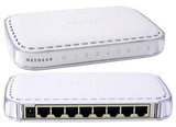 NetGear GS608 v3 8 Port Gigabit 10/100/1000 External Switch