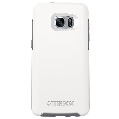 Samsung Galaxy S7 Edge OtterBox Symmetry Series Case, Glacier (White/Grey)