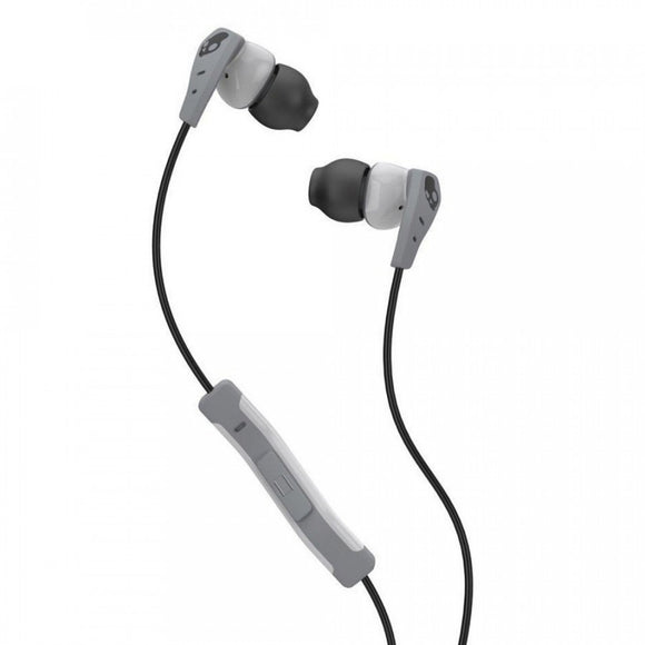 Skullcandy Method Sweat Resistant In Ear Headphones With Microphone - Light Gray Gray And Light Gray