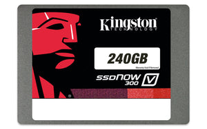 "Kingston SSDNow V300 240 GB 2.5"" Internal Solid State Drive - SV300S37A/240G"