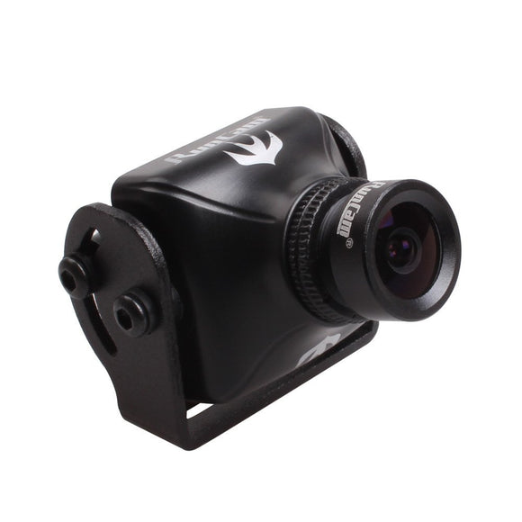 RunCam Swift2 600TVL FPV Camera 2.5mm Lens Integrated OSD DC 5-36V Support Audio (Black)