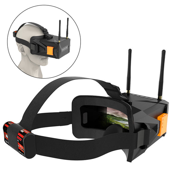 Eachine VR011 5.8G 40CH FPV Goggles Glasses With 5 Inch LCD Display 800x480PX