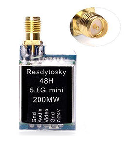 Readytosky FPV VTX Transmitter TS5823L Mini 5.8ghz 48CH 200mw Video Transmission