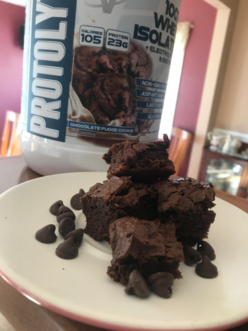 CHOCOLATE FUDGE PROTOLYTE® PROTEIN BROWNIES