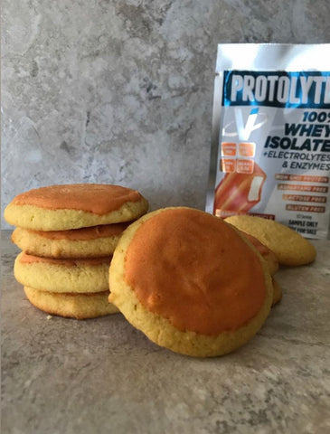 Orange Dreamsicle Sugar Cookies