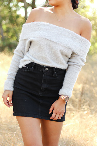Catalina Off Shoulder Sweater