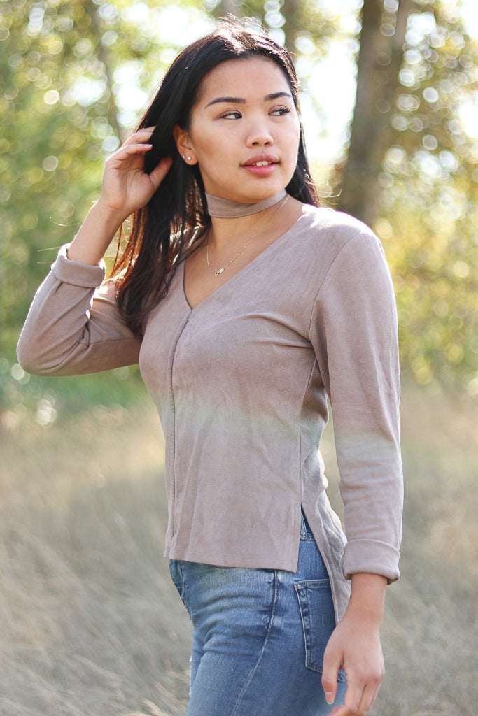 Indie Suede Top