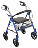 "Drive Durable 4 Wheel Rollator with 7.5"" Casters - MedixSource"