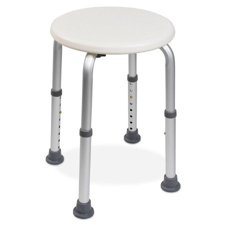 Shower Stool McKesson Without Arms Aluminum Frame Without Backrest 13 Inch Seat Width