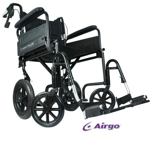 Airgo Comfort-Plus XC Premium Transport Chair - MedixSource