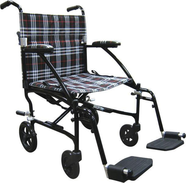 Fly-Lite Aluminum Transport Chair - MedixSource