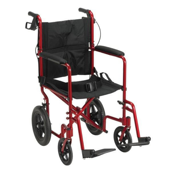 Lightweight Expedition Aluminum Transport Chair - MedixSource