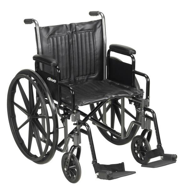 Silver Sport VI Heavy Duty Wheelchair - MedixSource
