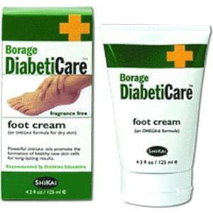 Borage DiabetiCare™ Foot Cream, Latex-free