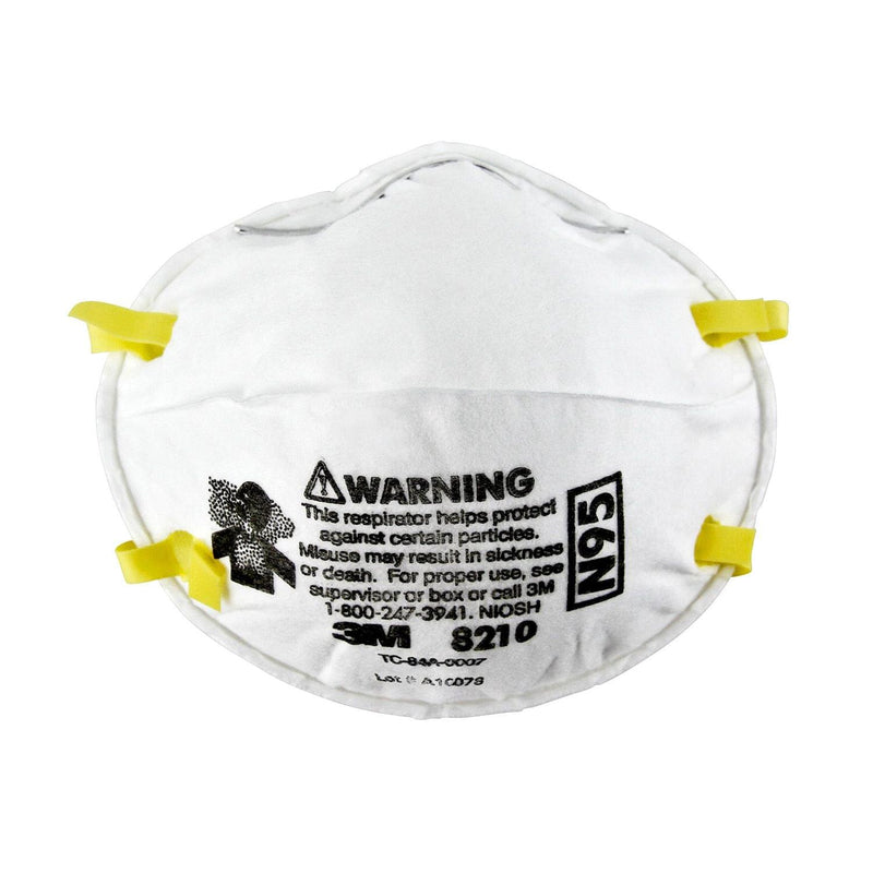 3M™ 8210 N95 Particulate Respirator (Box of 20)