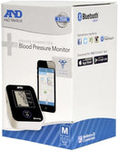 A&D Medical Upper Arm Blood Pressure Monitor with Bluetooth® Smart Technology