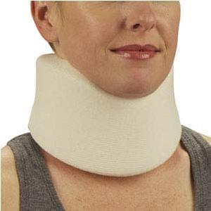 "DeRoyal Cervical Collar 22"" L x 3"" W Adjustable, Universal - MedixSource"