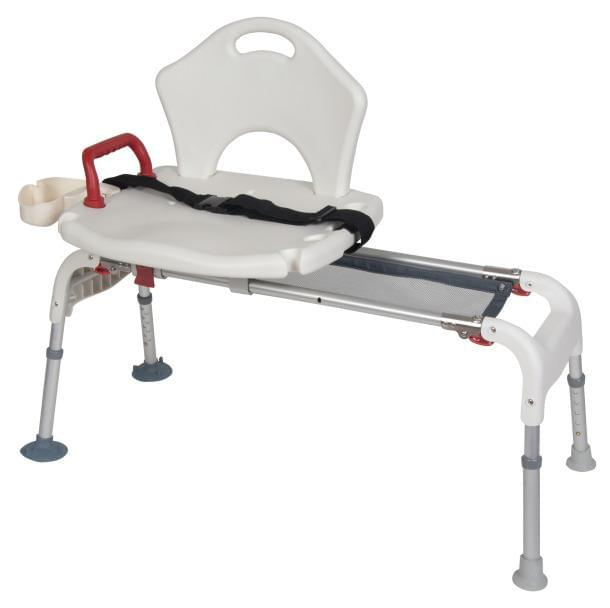 Folding Universal Sliding Transfer Bench - MedixSource