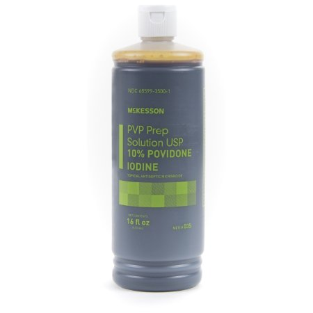 Prep Solution McKesson 10% Strength Povidone-Iodine