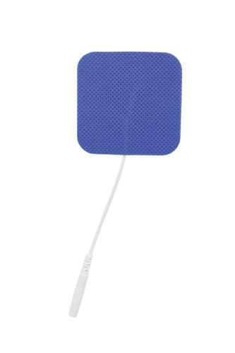 "Reusable Electrodes, Pack/40, 2""x2"" Square, Blue Jay Brand - MedixSource"