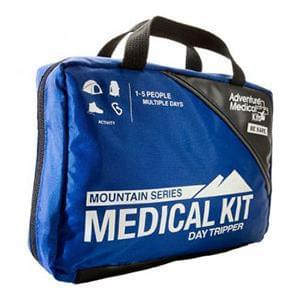 "Tender Corp Mountain Series Day Tripper Medical First Aid Kit 5-1/4"" x 7-1/2"" x 3"" (For 1 to 5 People) - MedixSource"