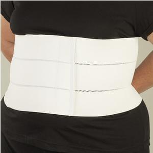 "DeRoyal Bariatric 4-Panel Abdominal Binder XL, 12"" L, 75"" to 84"" Circumference - MedixSource"
