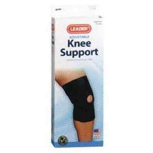 Leader® Neoprene Open Patella Knee Support - MedixSource