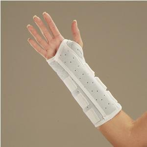 DeRoyal Wrist and Forearm Splint with Binding - MedixSource