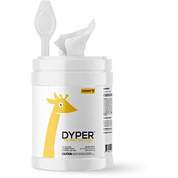 DYPER Plant-Based Eco Bamboo Alcohol Wipes