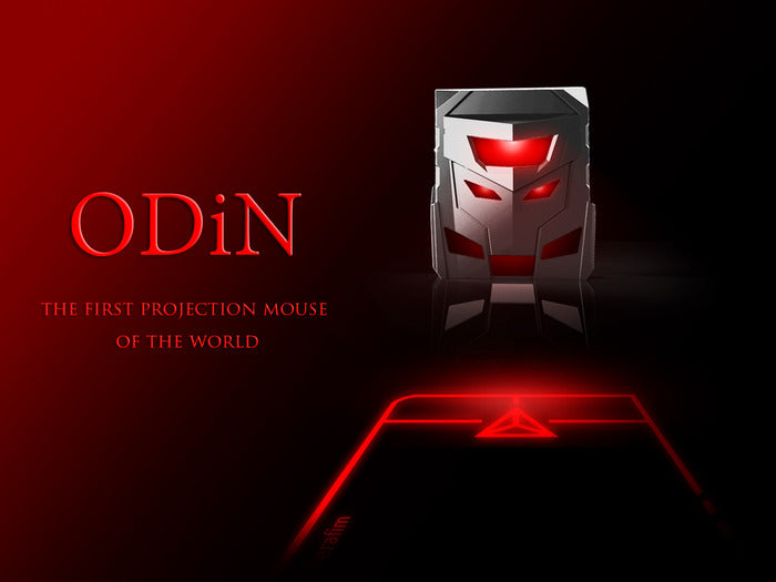 ODiN Aurora - The World's First Projection Mouse / Trackpad