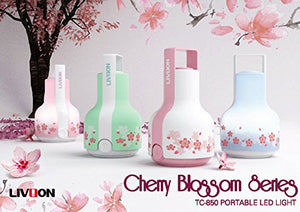 [LIVION] Portable LED Lantern (Cherry Blossom Series)