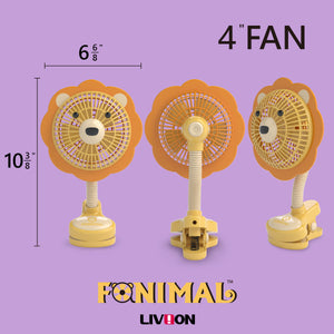 [LIVION] Fanimal Clip-On Stroller Fan