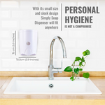 [HOMEPLUZ] Simply Manual Wall Soap Dispenser 20 oz (580ml)