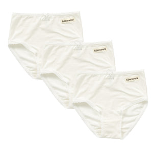 [Edenswear] Girl's Underwear for Sensitive Skin (3-pack)